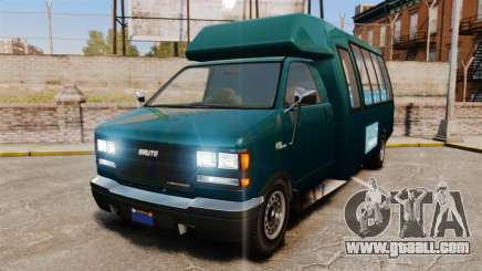 GTA V Brute Tour Bus for GTA 4