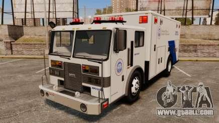 Hazmat Truck NOOSE [ELS] for GTA 4