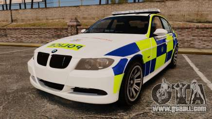 BMW 330i Hampshire Police [ELS] for GTA 4