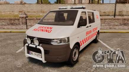 Volkswagen Transporter T5 2010 [ELS] автобус for GTA 4
