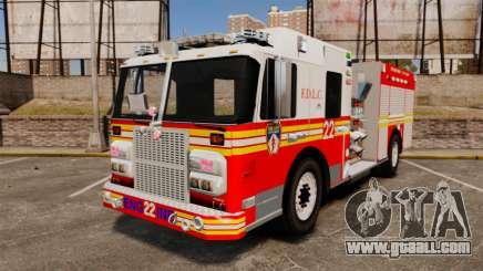 Firetruck FDLC [ELS] for GTA 4