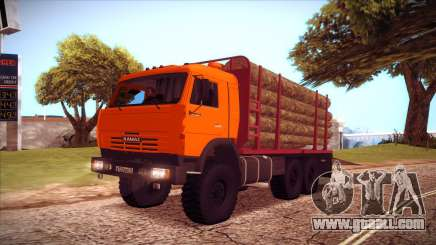 KAMAZ 54115 timber carrier for GTA San Andreas