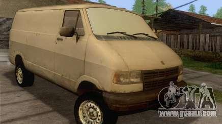 Dodge RAM Van 1500 for GTA San Andreas