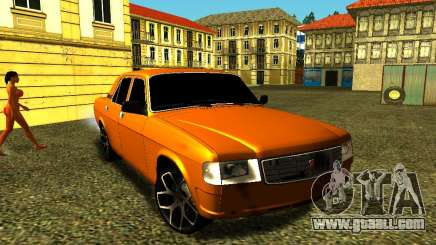 GAZ 31029 Volga Orange for GTA San Andreas