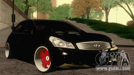 Infiniti G37 for GTA San Andreas