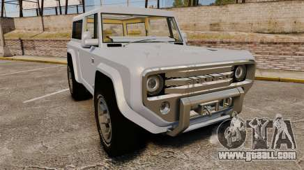 Ford Bronco Concept 2004 for GTA 4
