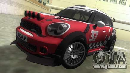 Mini Countryman WRC for GTA Vice City