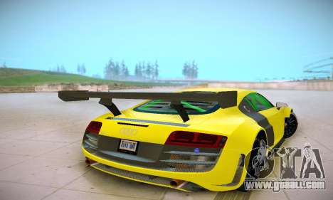 Audi R8 LMS Ultra v1.0.0 for GTA San Andreas right view