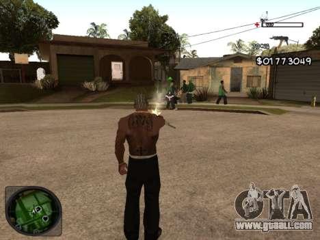 C-HUD by Azov for GTA San Andreas