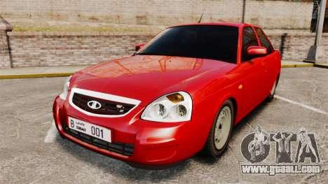VAZ-2170 Dubai for GTA 4