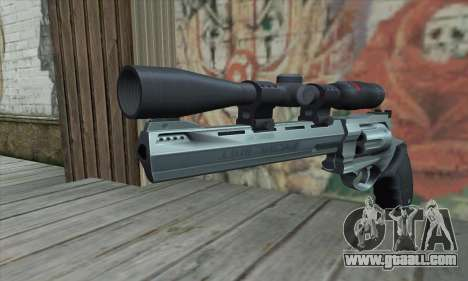44.M Raging Bull with Scope for GTA San Andreas