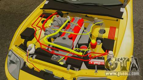 Toyota Supra 1994 (Mark IV) Slap Jack for GTA 4 inner view