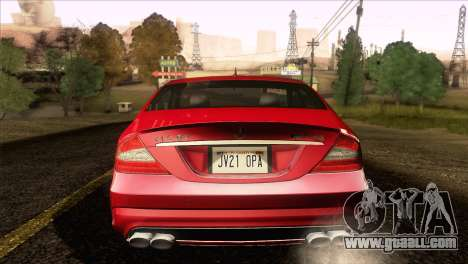Mercedes-Benz CLS 63 AMG 2008 for GTA San Andreas back left view