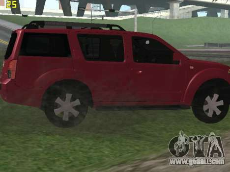Nissan Pathfinder for GTA San Andreas right view