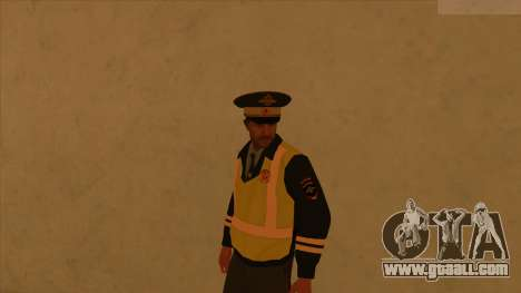 Skins police and army for GTA San Andreas