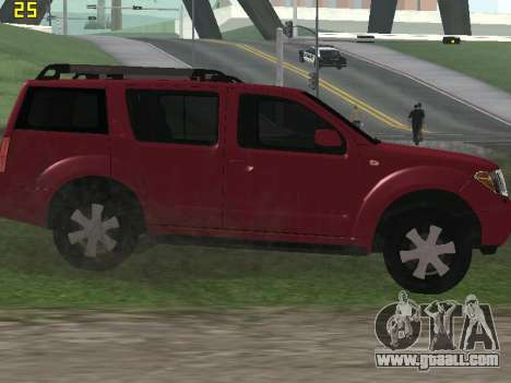 Nissan Pathfinder for GTA San Andreas back view