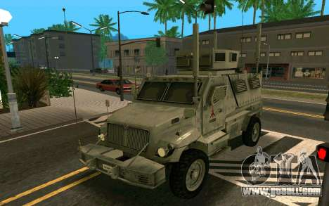 MRAP Mèxico Marine for GTA San Andreas left view