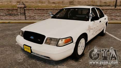 Ford Crown Victoria Traffic Enforcement [ELS] for GTA 4