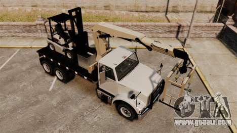 Benson Heavy for GTA 4 upper view