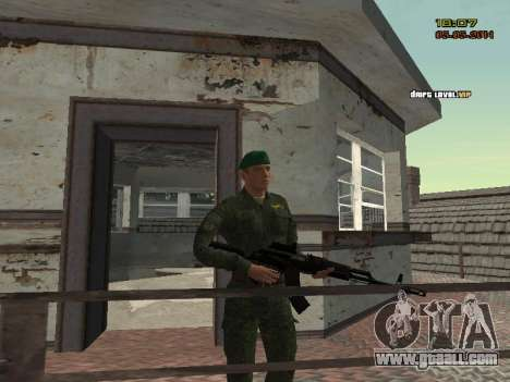 The Modern RUSSIAN Army for GTA San Andreas twelth screenshot