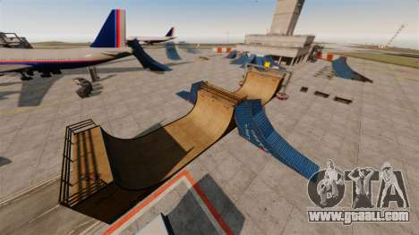 Trick-Park at the airport for GTA 4