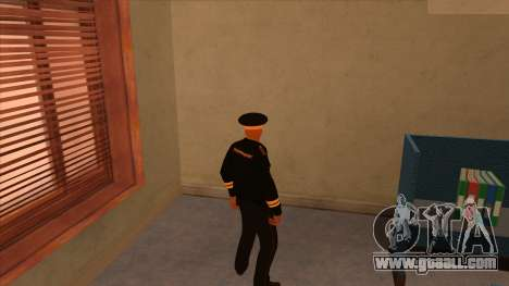 Skins police and army for GTA San Andreas second screenshot