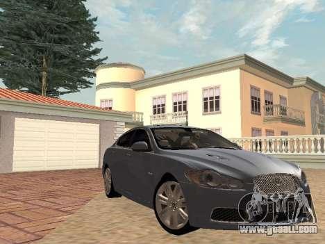 Jaguar XFR 2010 for GTA San Andreas