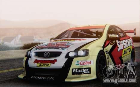 Holden Commodore for GTA San Andreas interior