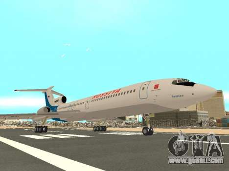 Tu-154 B-2 SCC of Russia for GTA San Andreas back view