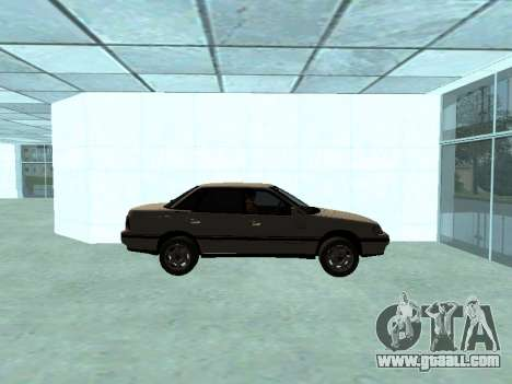 Subaru Legacy for GTA San Andreas back left view