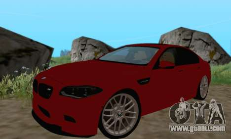 BMW M5 F10 v1.1 for GTA San Andreas