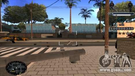 C-HUD A.C.A.B for GTA San Andreas third screenshot