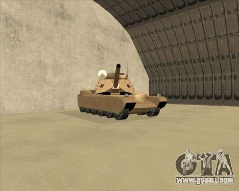 Rhino Mark.VI for GTA San Andreas left view