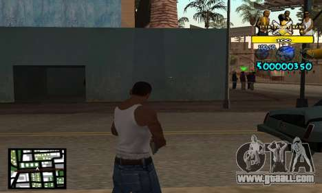 Vagos C-Hud for GTA San Andreas second screenshot