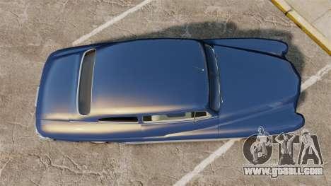 Mercury Lead Sled Custom 1949 for GTA 4 right view
