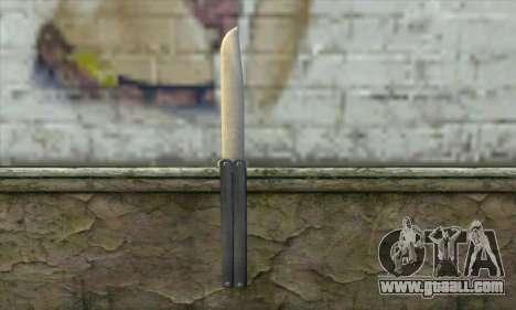 Knife for GTA San Andreas
