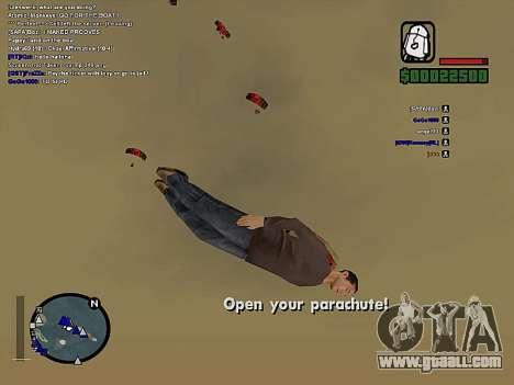 SA-MP 0.3z for GTA San Andreas seventh screenshot