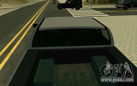 GTA V Bison Version 2 FIXED for GTA San Andreas back view