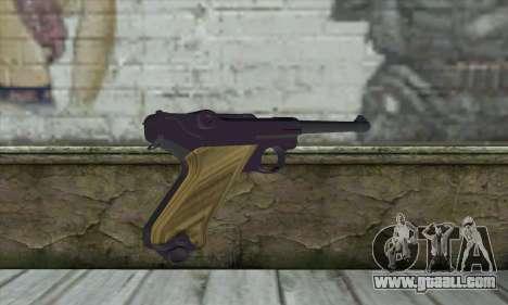 LugerP08 for GTA San Andreas second screenshot
