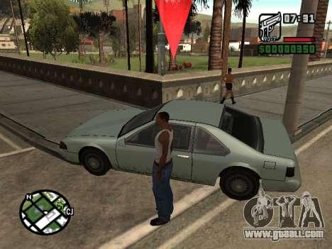 Ketchup on the hood for GTA San Andreas second screenshot