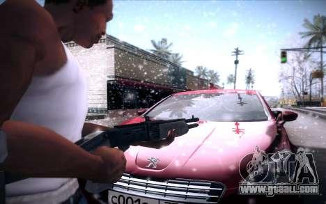 Spas 12 for GTA San Andreas fifth screenshot