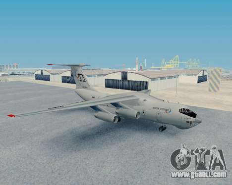Il-76TD Aviacon zitotrans for GTA San Andreas left view