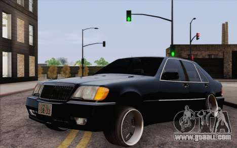 Mercedes-Benz S500 w140 for GTA San Andreas