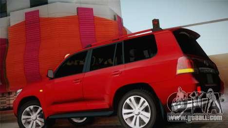 Toyota Land Cruiser 200 for GTA San Andreas interior