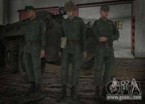 The Modern RUSSIAN Army for GTA San Andreas