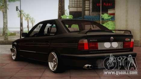 BMW E34 Alpina B10 for GTA San Andreas right view