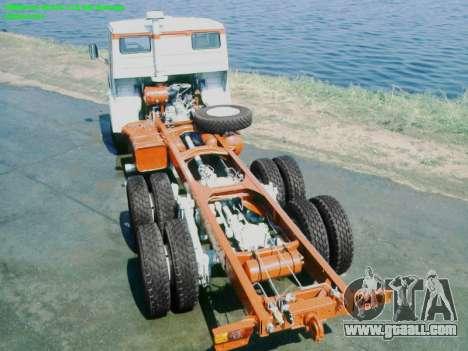 Boot screens Soviet Trucks for GTA San Andreas