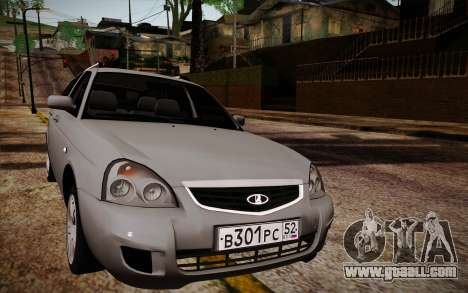 VAZ 2171 Priora for GTA San Andreas
