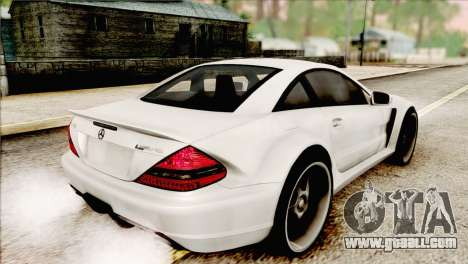 Mercedes-Benz SL65 AMG BS 2009 for GTA San Andreas left view