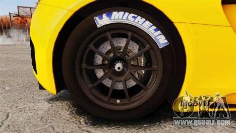 McLaren MP4-12C GT3 (Updated) for GTA 4 back view